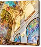 Murals Of Capitole De Toulouse Canvas Print