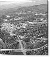 Murphy From The Air Canvas Print