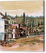 Murphys Camp California Canvas Print