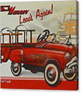 Murray Fire Truck Canvas Print