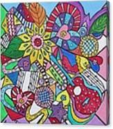 Musaic Canvas Print