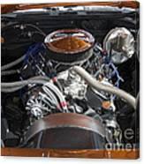 Muscle Car Engine Canvas Print