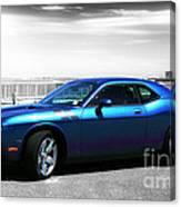 Muscle Car Fusion Canvas Print
