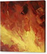 Muse In The Fire 2 Canvas Print