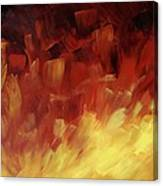 Muse In The Fire 3 Canvas Print