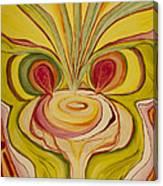 Sage Onion Mushroom Canvas Print