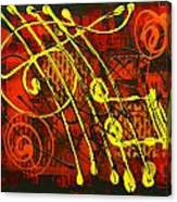 Music 3 Canvas Print