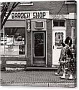 Music - Bag Piper - Somerville Nj -  The Scottsman Canvas Print