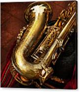 Music - Brass - Saxophone  Canvas Print