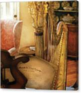 Music - Harp - The Harp Canvas Print