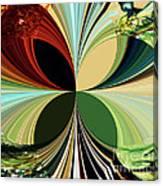 Music In Bird Of Tree Kaleidoscope Canvas Print