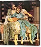 Music Lesson Canvas Print
