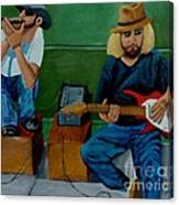 Music Of The Street Canvas Print