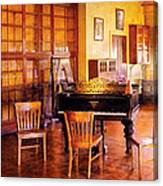 Music - Piano - Ready For Piano Lessons Canvas Print