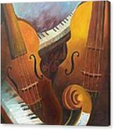 Music Relief Canvas Print