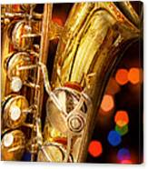 Music - Sax - Very Saxxy Canvas Print