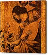Musical Angel Canvas Print