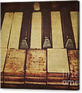 Musical Fingerprints Canvas Print