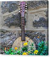 Musical Garden Canvas Print