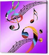 Musical Illusion Canvas Print