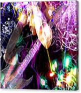 Musical Lights Canvas Print