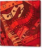 Musical Movements Canvas Print