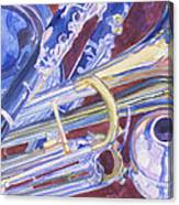 Musical Reflections Canvas Print