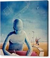 Musician's Dreams Canvas Print