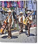 Musicians La Bufadora Canvas Print