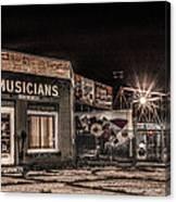 Musicians Union Canvas Print