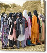 Muslim Girls Canvas Print