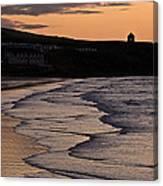 Mussenden Sunset Canvas Print