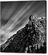 Mussenden Temple - On The Edge Canvas Print