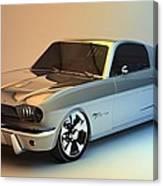 Mustang 66 Canvas Print