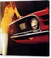 Mustang '70 Canvas Print