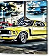 Mustang Boss 302 Canvas Print