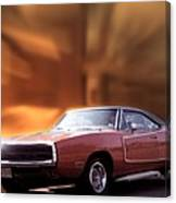 My 70 Charger 440 Six Pack Canvas Print