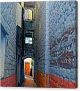 My Alley  Canvas Print