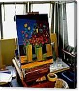 My Art Studio Canvas Print