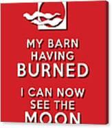 My Barn Red Canvas Print