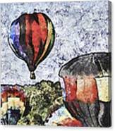 My Beautiful Balloon Canvas Print