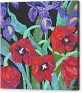 My Birthday Bouquet Canvas Print
