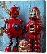 My Bots Canvas Print