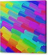 My Box Of Color Canvas Print