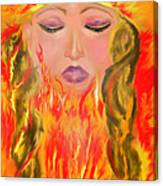 My Burning Within Canvas Print