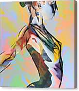 My Colorful Ballerina  Canvas Print