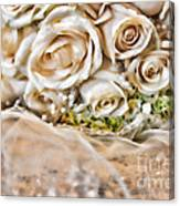 My Daughter's Bouquet By Diana Sainz Canvas Print