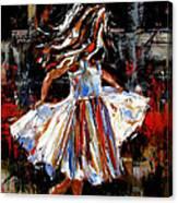 My Dress Canvas Print