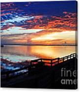 My Favorite Time Of Day Canvas Print