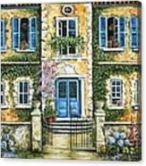 My French Villa Canvas Print